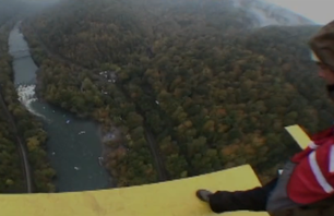 BASE Jump the New River Gorge