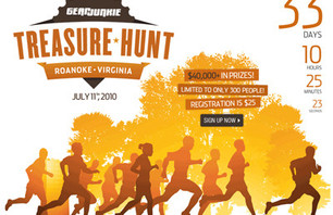 Roanoke Hosting GearJunkie.com Treasure Hunt
