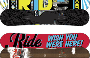 Ride Snowboards Hempbrain Technology
