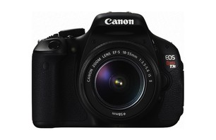 Canon EOS Rebel T3i Camera