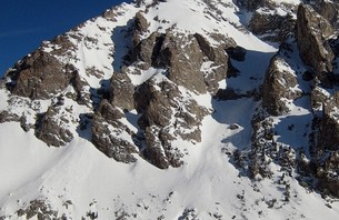 Triumph and Tragedy Skiing 'Love LIfe' Couloir