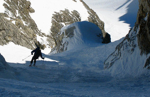 Triumph and Tragedy Skiing 'Love Life' Couloir [+Video]