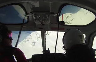 Snowboarding in B.C. with Snowwater Heli
