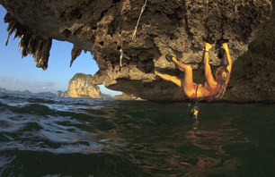 Climbing and Deep-Water Soloing in Thailand