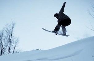 PowderJet: Homegrown Snowboard