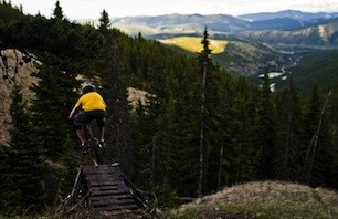 Bike: Moose Mountain, Alberta