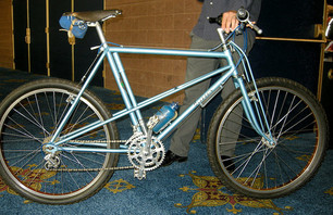 First Mountain Bike Ever, at Interbike 2011