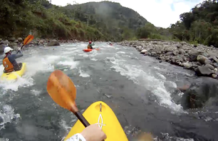 Whitewater Kayaking in Costa Rica