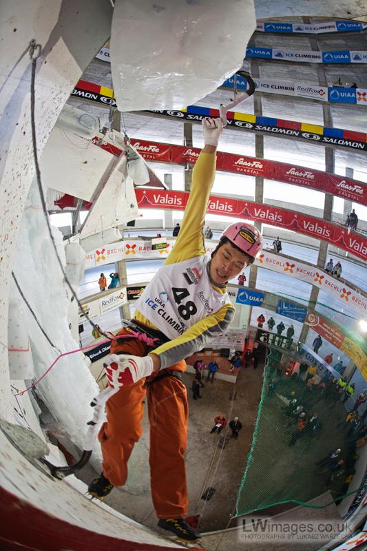 2010 Ice Climbing World Cup Champions