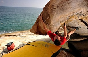 Bouldering in Qingdao, China