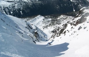 Splitboard First Decent in the Central Cascades