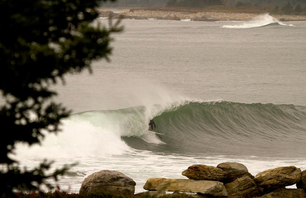 Winter Surf in Eastern Canada