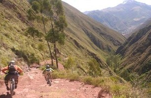 Mountain Biking Peru's Olleros Trail