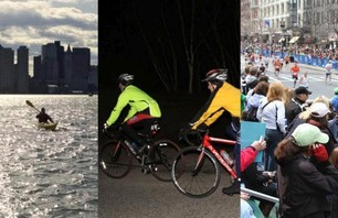 Epic Man: Kayak, Bike and Run the Boston Marathon