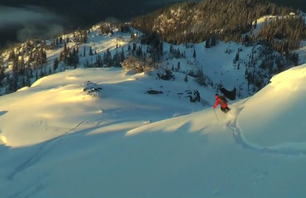 Pre-Season Pow in Whistler Bowl
