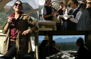 Woolrich Adventures on the Rocky Mountaineer