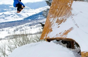 Burton Snowboards Stash Park at Jackson Hole Resort