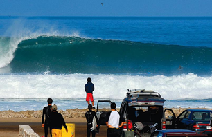 Surfing Chile\'s Goofy-Footed Coastline