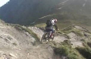 Singletrack in the Swiss Alps