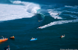 Tilt-Shifted: Surfing Tahiti & Coachella Music Festival