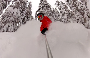 \'Say Deeep\': Snowboarding Pow at Stevens Pass