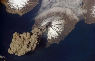 Volcanic Eruptions Photos From Space
