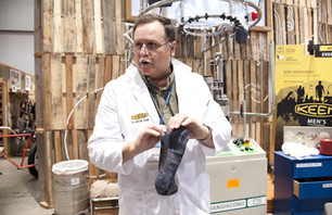 KEEN sock scientist