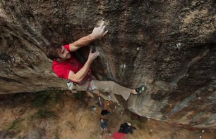 Chris Sharma, First Round, First Minute