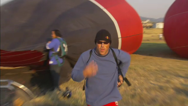 Balloon Base Jumping